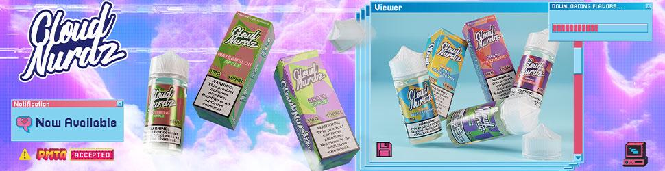 Clouds Nurdz E-liquid By Daddy's Vapor