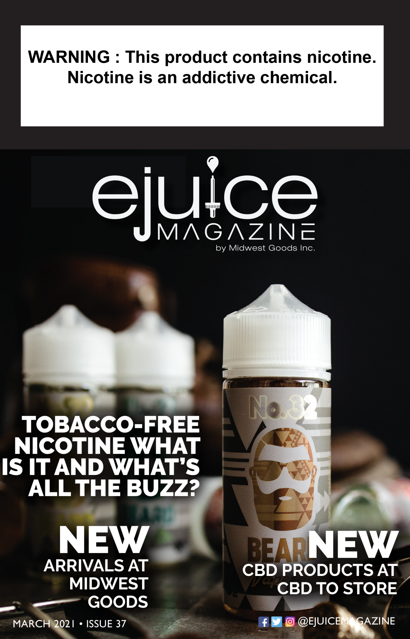 E-Juice Magazine Cover March 2021
