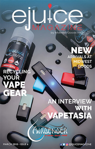 March 2018 Digital Issue: Vapetasia tells us what makes them who they are